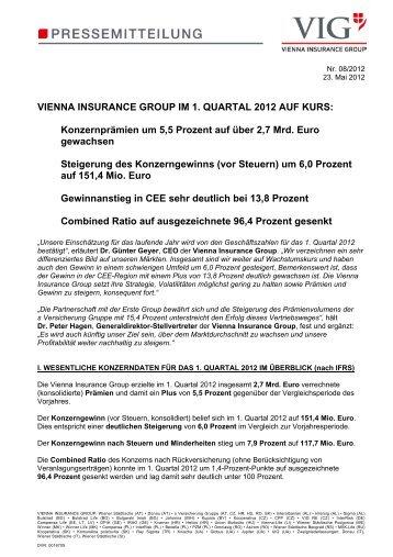 08 VIG 1. Quartal 2012