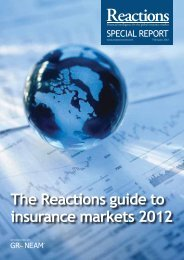 The Reactions guide to insurance markets 2012