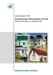 Dokumentation 548 Stahl-Informations-Zentrum