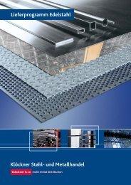 Lieferprogramm Edelstahl - Klöckner Stahl