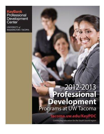 Professional Development - University of Washington Tacoma
