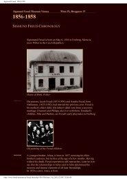 Sigmund Freud: 1856-1958 - Istituto Marco Belli