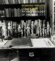 sigmund freud's collection an archaeology of the mind