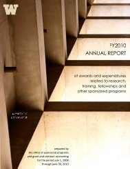 Annual Report - Fiscal Year 2010