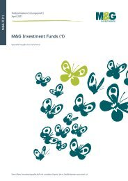 M&G Investment Funds (1) - fundinfo.com