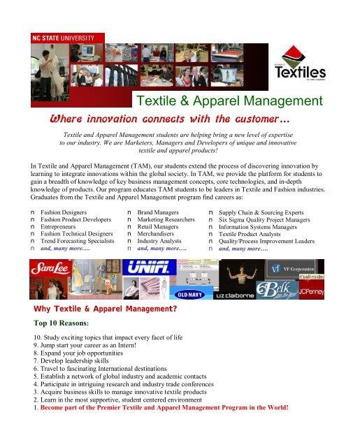 Textile Apparel Management