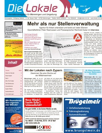 Download 03 Mär '12 - Lokale Zeitung Memmingen