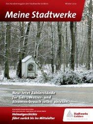 Ausgabe Winter 2012 - Stadtwerke Geldern