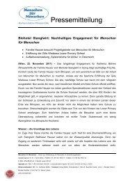 Biohotel Stanglwirt: Nachhaltiges Engagement für Menschen für ...