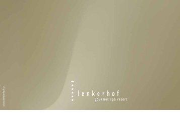 Hotelprospekt - Lenkerhof Alpine Resort