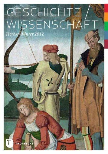 geschichte / wissenschaft - Jan Thorbecke Verlag