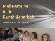 Reisebericht Mai-Juni 2012 - bei Hoffnung für eine neue Generation ...