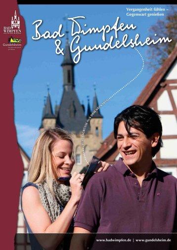Unseren Imagekatalog können Sie hier downloaden - Gundelsheim