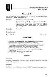 7. Protokoll GR-Sitzung (429 KB) - .PDF - Gemeinde Westendorf