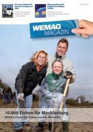 10.000 Eichen für Mecklenburg - Wemag AG