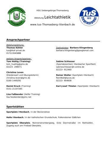 www.tus-Thomasberg-Ittenbach - 4xschlosser.de