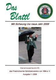 Mit Schwung ins neue Jahr 2009 - Friedrichsorter Schützenverein ...