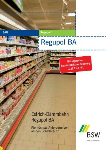 Regupol BA - Frieser München GmbH