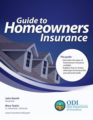 Guide to - Ohio Department of Insurance - State of Ohio
