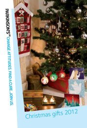Download Christmas Catalogue (PDF, 1MB) - Parkinson's UK shop
