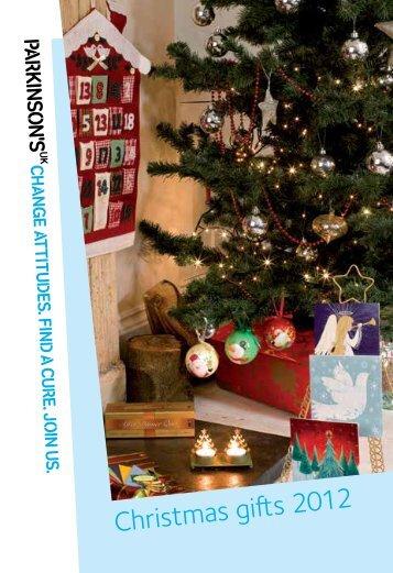 Download Christmas Catalogue (PDF, 1MB) - Parkinson's UK shop