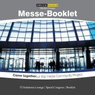Messebooklet - druckdeal.de Digi:media - Druckereien
