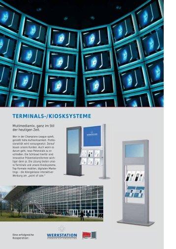 TERMINALS-/KIOSKSYSTEME - AHA Systeme