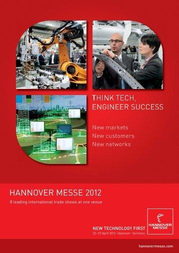 HANNOVER MESSE 2012 - OHK Liberec