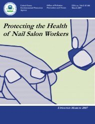 Protecting the Health of Nail Salon Workers - Minnesota Department ...