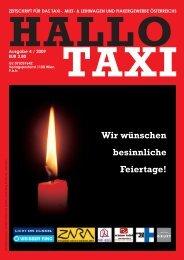 Wir wünschen besinnliche Feiertage! - bei Taxi 60160
