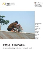 POWER TO THE PEOPLE - World Resources Institute