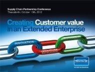 Innovation is the development of new customer value ... - Frigoglass