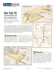 Plans NOW Our Top 10 Workbench Accessories - miketilt