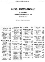 Belfast and Ulster Street Directories (PDF) - Library and