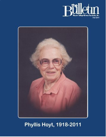 Phyllis Hoyt, 1918-2011 - Miami University