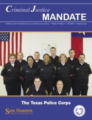 Fall 2004 CJ Mandate corrected to printer.indd - College of Criminal ...