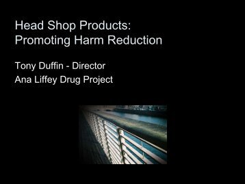 Head Shop Products - Promoting Harm Reduction - North Inner City ...