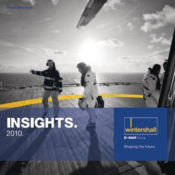Wintershall Annual Brochure 2010 (English)