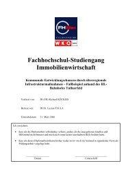 Fachhochschul-Studiengang Immobilienwirtschaft - koeckeis .at