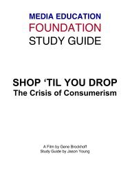Shop 'Til You Drop - Study Guide - Media Education Foundation