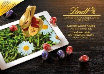 Catalogue de Pâques & Eté B2B - Lindt Online Shop