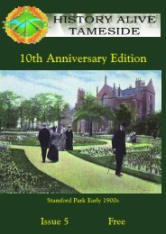 10th Anniversary Edition - Tameside Local History Forum