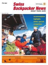 Swiss Backpacker News - verein-web.ch