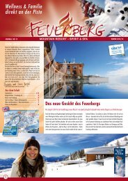 Feuerberg - Winter-Prospekt 2012/13
