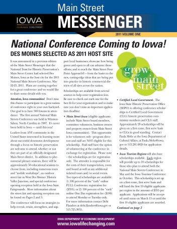 Main Street Messenger - Iowa Publications Online