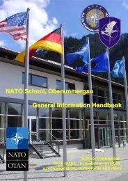 Student Handbook - NATO School