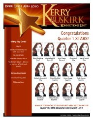 October 2009 with September Recognition - Kerry Buskirk