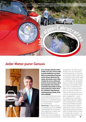 PCD Interalpen Caprio - Porsche Club Deutschland