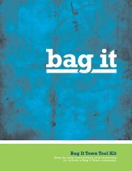 Download the Bag It Town Tool Kit