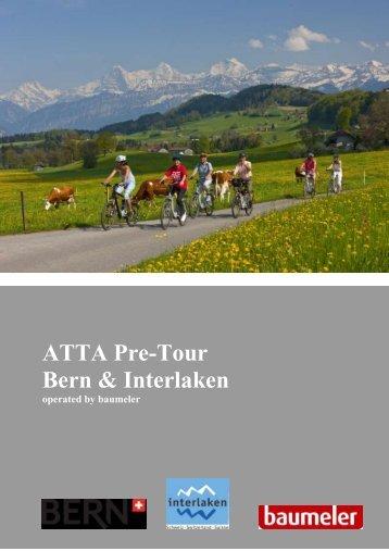 ATTA Pre-Tour Bern & Interlaken